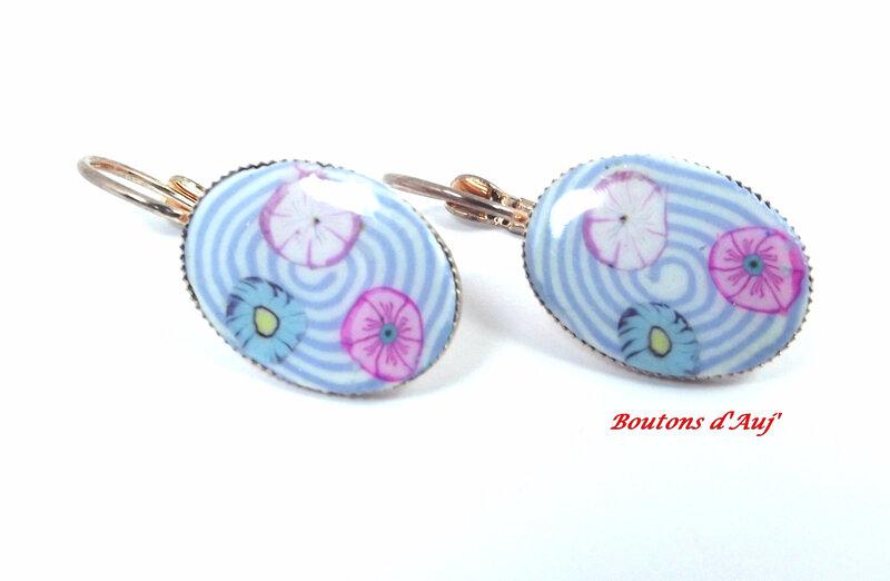 Boucles d'oreilles création Boutons d'Auj' 26-K-17 (27)