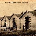 101 - Caen - Caserne d'artillerie - Les Ecuries (carte postale coll. Verney-grandeguerre)