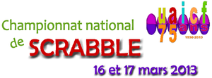 Championnat National de scrabble 2013