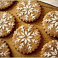 Biscuits flocons de neige