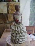 Anabella,sculpture,modelage,céramique,terre,argile,raku,silhouette,espagnle,femme,statuette,statue,grès (14)