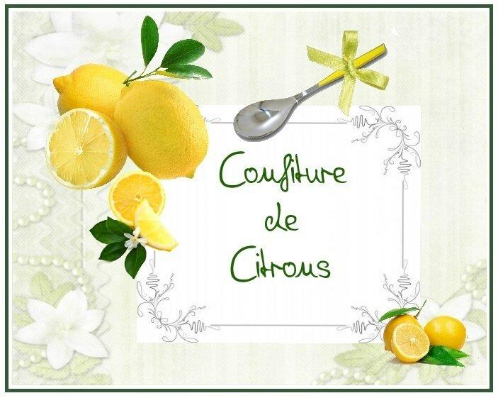conf citrons