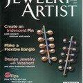 Faux bone(tm) et pâte d'argent dans jewelry artist magazine