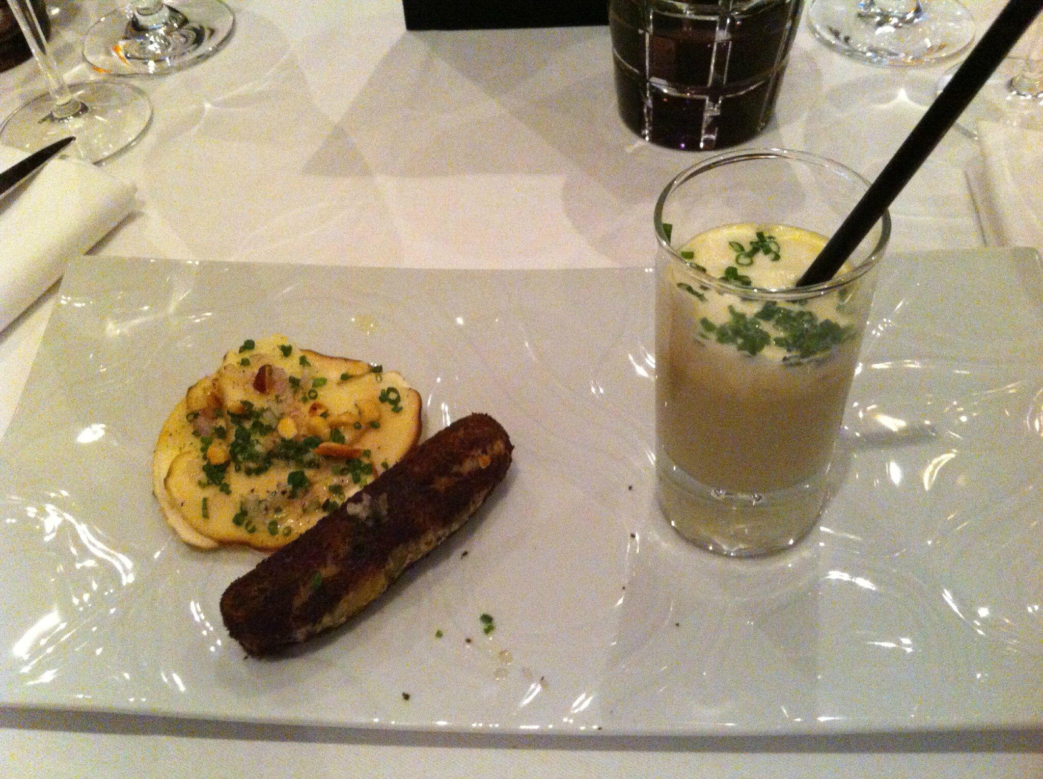 Restaurant L\'oiseau bleu – Bordeaux Diner à 4 mains - LesplatsdePat