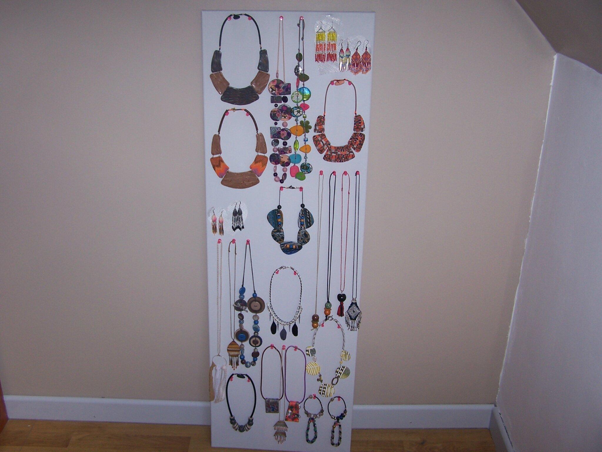 pr sentoir bijoux blog fimo les cr ations tendances de v ronique. Black Bedroom Furniture Sets. Home Design Ideas
