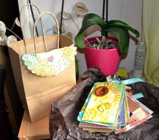 Paquet cadeau + Album tags - 2