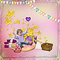 Happy birthday - le petit scrap