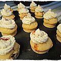 Cupcakes salés aux tomates confites et pecorini