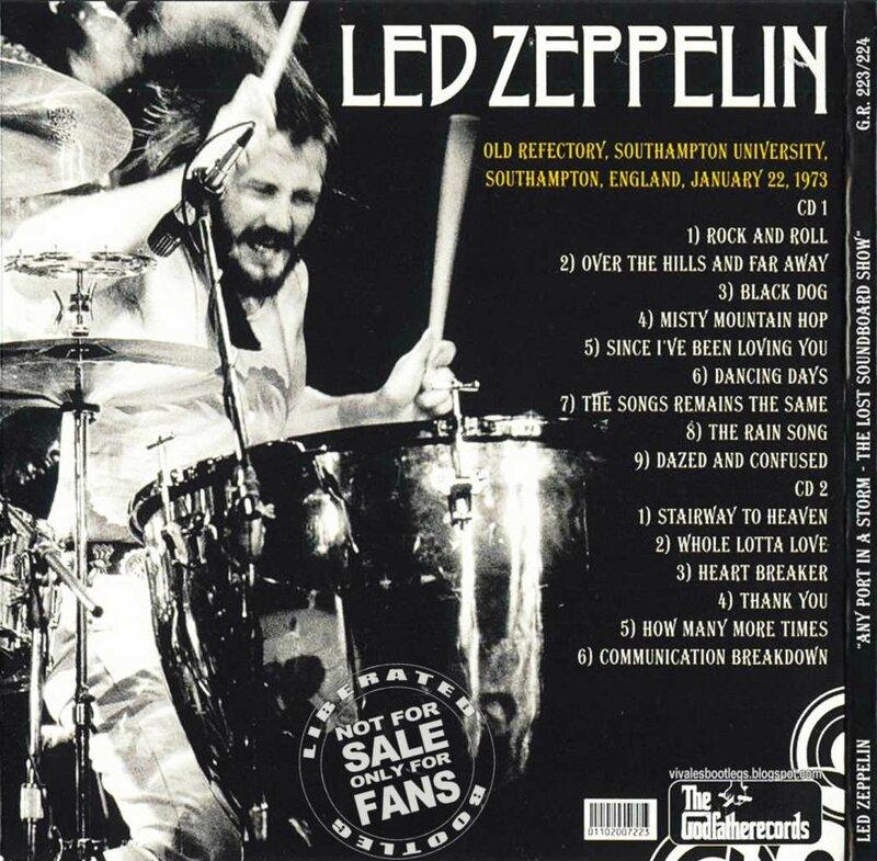 Led Zeppelin Any Port in a Storm lost soundboard back_1