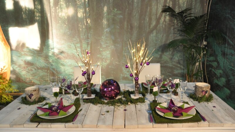 MARIE MEYER SCENE D INTERIEUR 2014 TABLE FORET 1