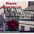 Pierre montillo expose a annecy