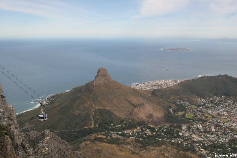 Cableway and the Lion's Head