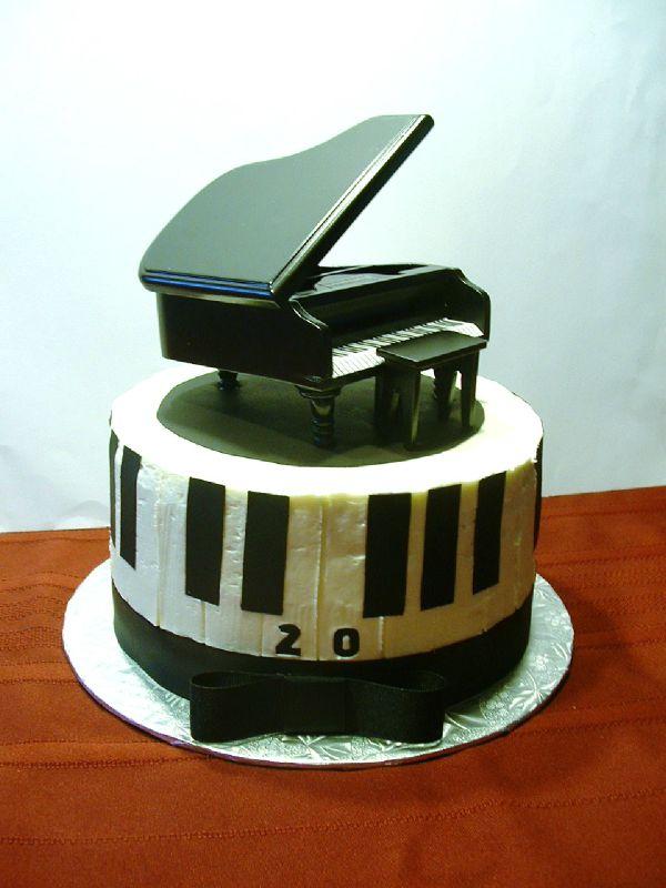 Gateau Piano Alexandre 20 ans