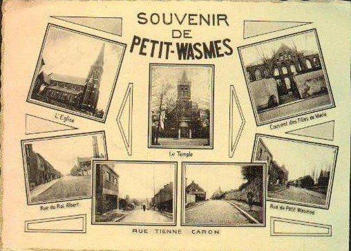 Panneau 5 Carte Souvenir de Petit-Wasmes