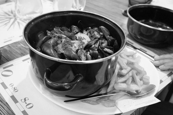 Delicieuses moules frites