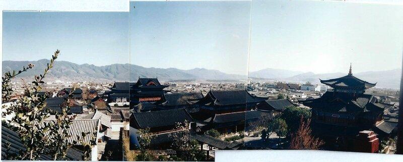 Vue sur l ancien palais du gouverneur de Lijiang