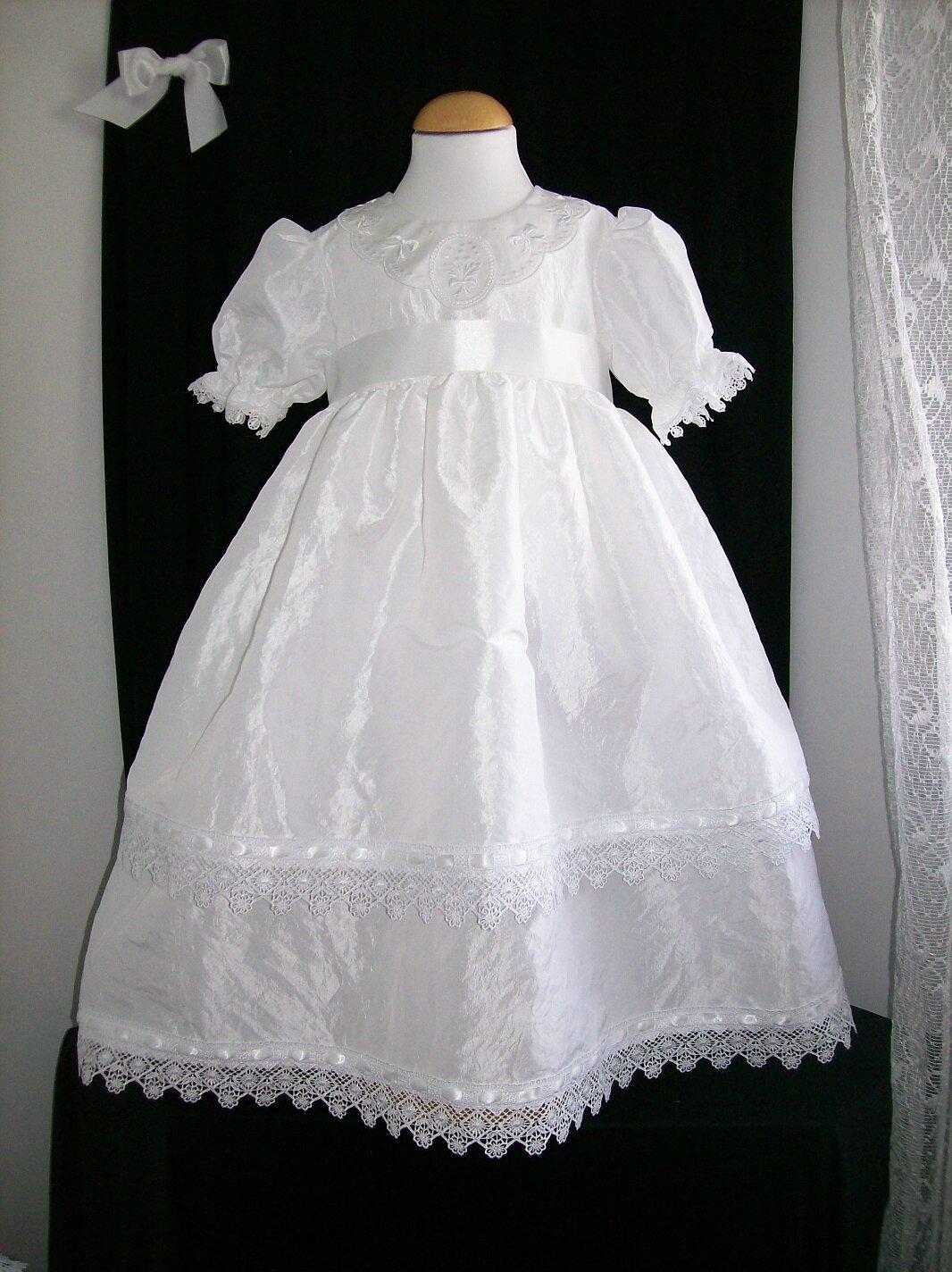 Robe dentelle fille 2 ans