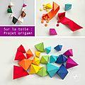 Projet minute en origami