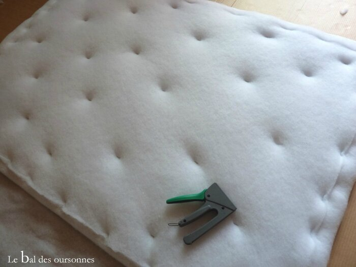 112 Blog Tête de lit DIY Tuto Hand Home Made Molleton Matelassage