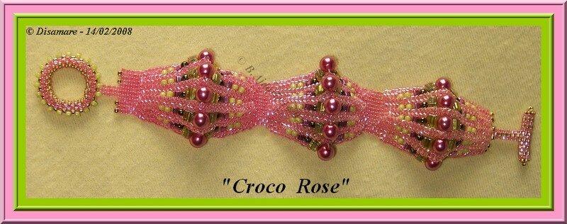 Croco rose