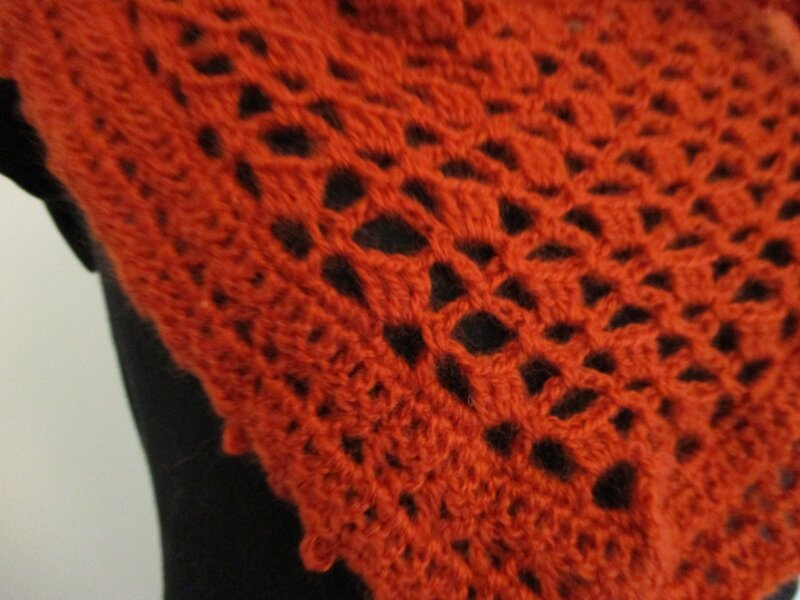 Cow-girl Crochet Orange (1)