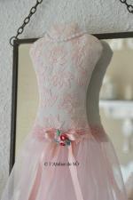 buste rose pâle a - 1