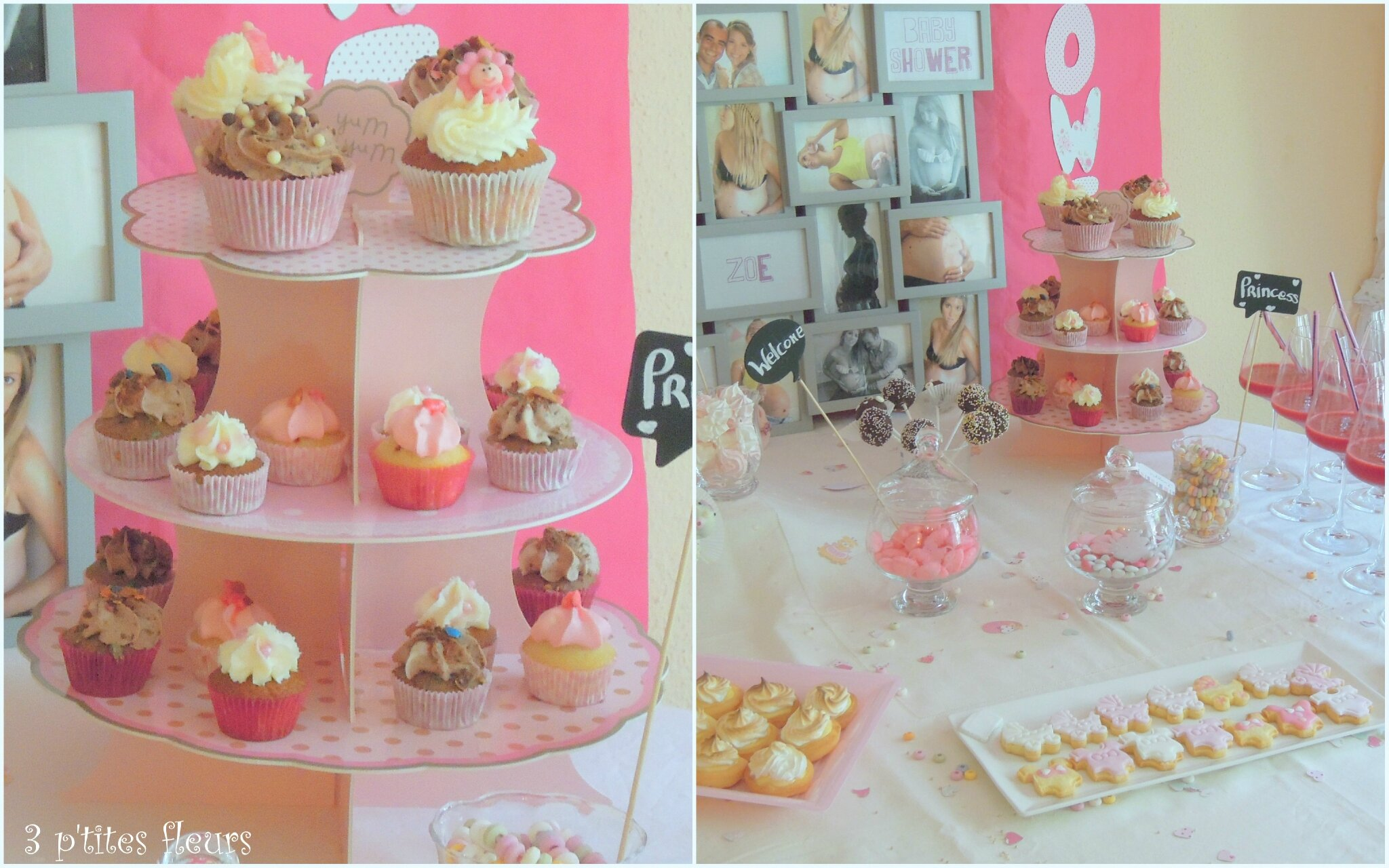 Baby shower pour ma fille Laura