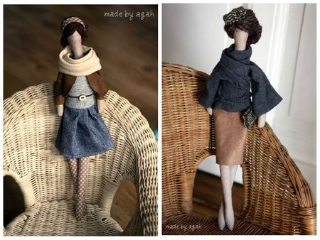 OOAK fabric doll Etsy 5