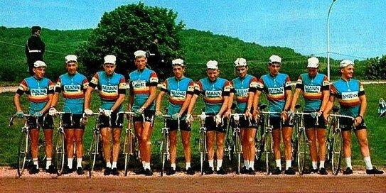 12) Ward Sels dans l'équipe Belgique A Tour de France 68