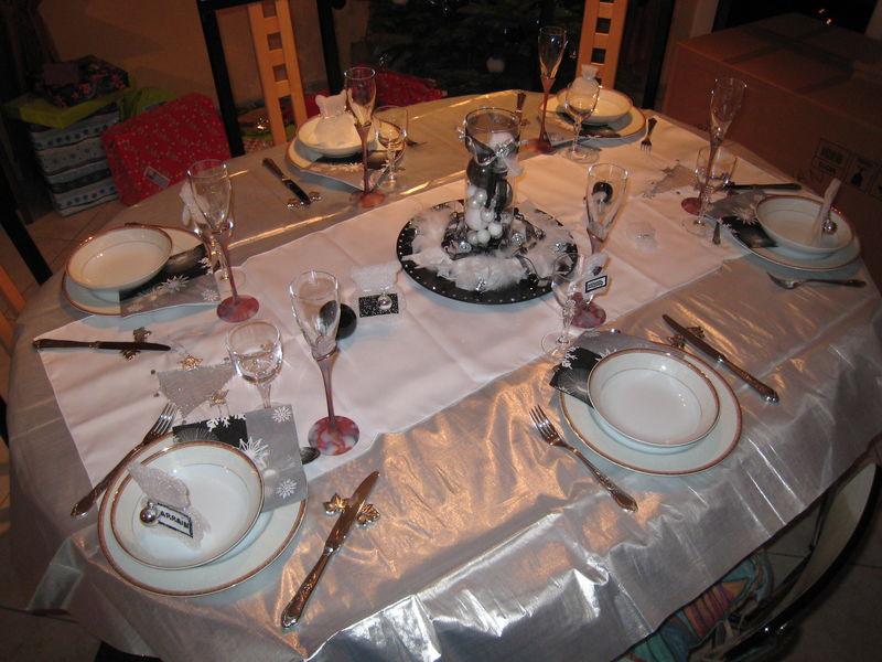 D co table noel 08 estel touch for Comdecoration de noel pour table