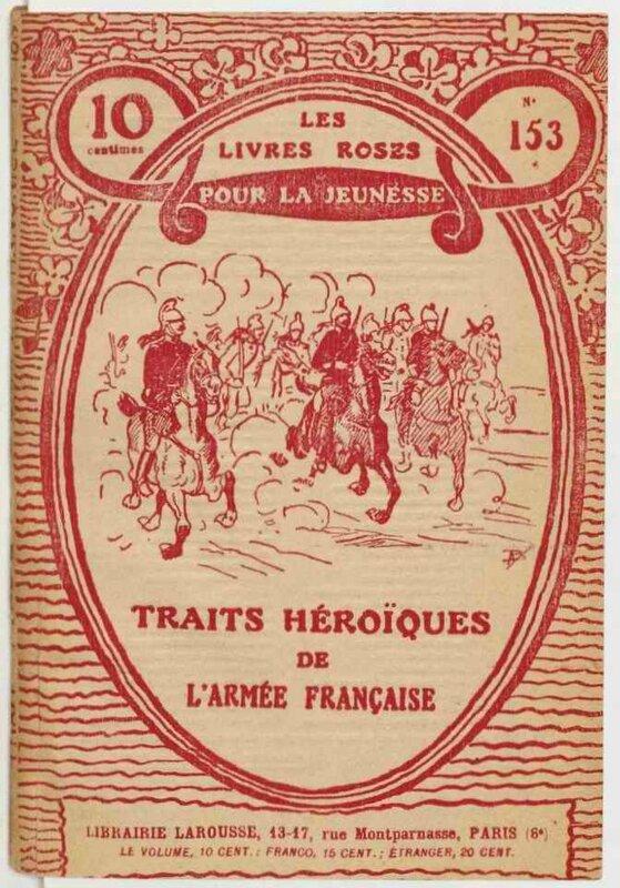 Livres roses traits héroique