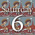 Saturday six # 26