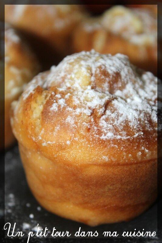 Muffins abricots mascarpone