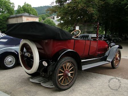 Willys Knight 70a limo 1927 Internationales Oldtimer Meeting Baden Baden 2011 2