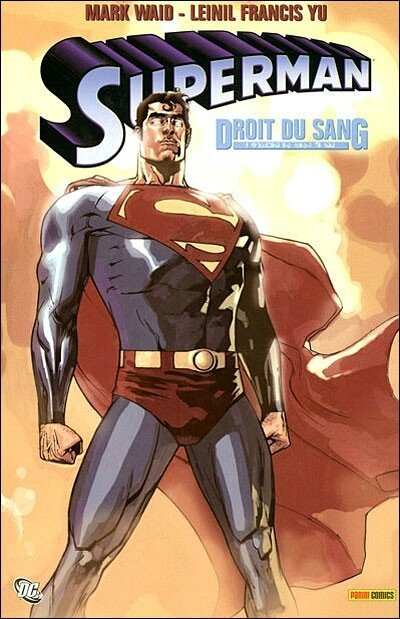 panini superman droit du sang