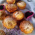 Petits gâteaux à l'orange,safran et chocolat