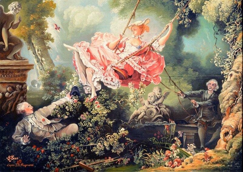 Fragonard l'escarpolette