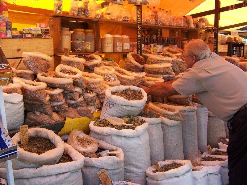 marché á Santos