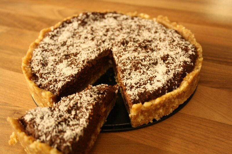 tarte choco avocat vegan backen (4)