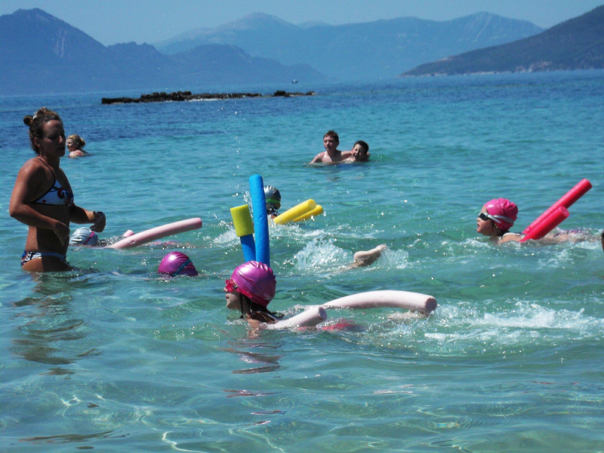 Leçon de natation n° 4