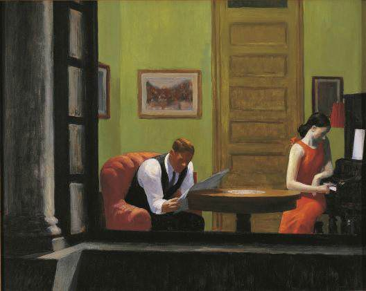 Edward hopper Room in New York city