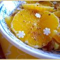 Salade d'orange épicée