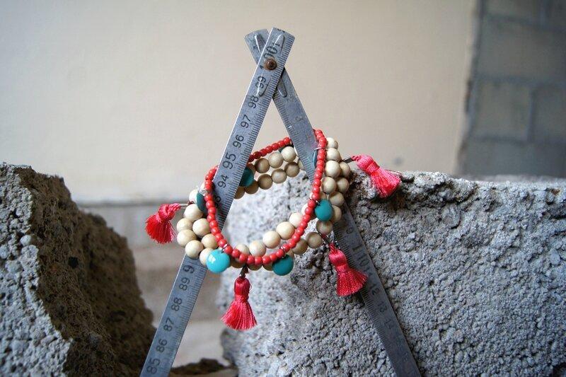 étoile bracelets dentelles