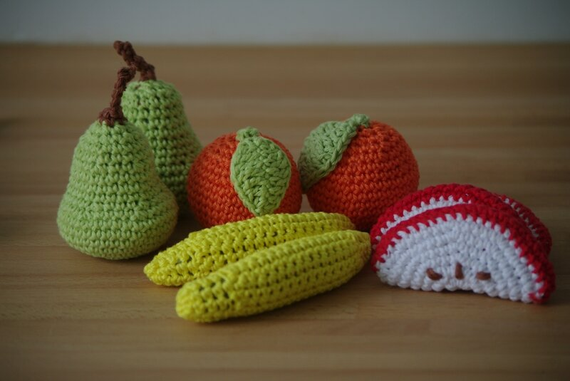 crocheter des fruits