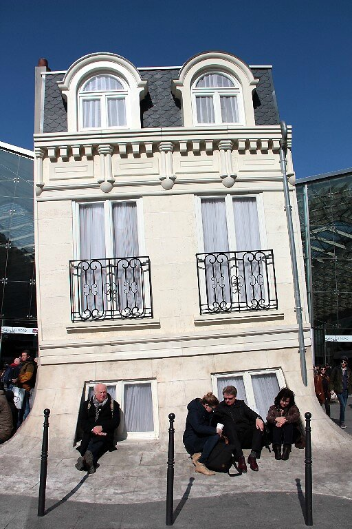 4-Maison Fond, Leandro Erlich, Gare du Nord_8645