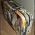 scrapbulle-urne de mariage thème USA-2