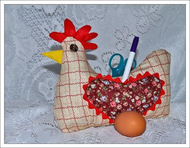 une poule pour p ques les mille et 1 passions de guyloup. Black Bedroom Furniture Sets. Home Design Ideas