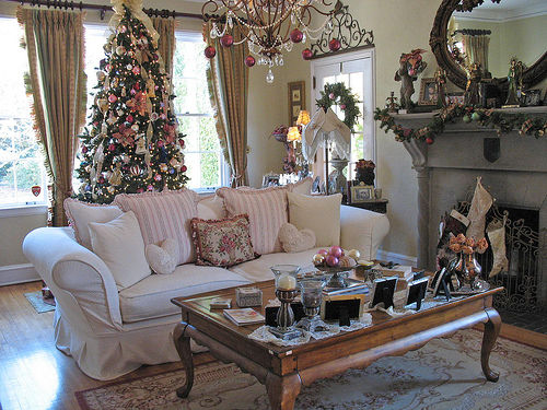 No l shabby shabby romantic - Decoration interieur de noel ...