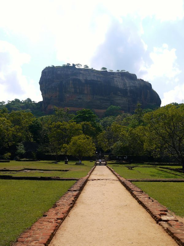 Sri Lanka Rocher Sigiriya copie