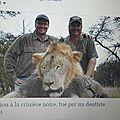 Tueur de lion c'est dernier jour